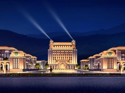 肇庆医学高等专科学校升本迁建项目灯光工程
